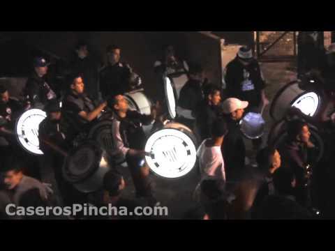 La banda en Platense contra Banfield (CaserosPincha.com) - La Banda Más Fiel - Atlético Platense