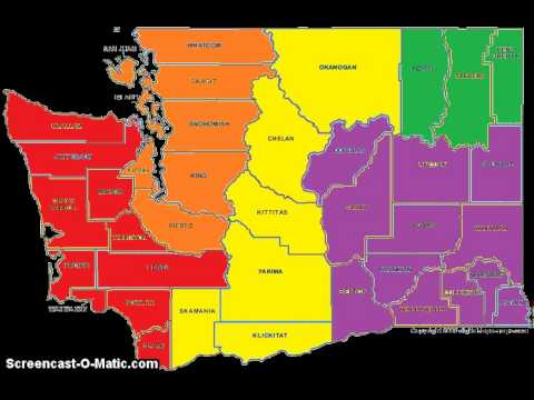 Washington State Counties and Regions