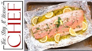 It doesn't get much easier than this Easy 5 Ingredient Baked Salmon with a garlic, lemon, and dill butter sauce. All it takes is 5 ...
