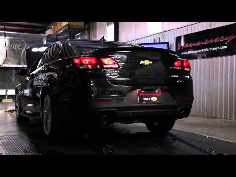 Hennessey Performance dynos 2014 Chevy SS Sedan