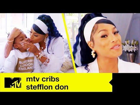 EP #1: Stefflon Don's Essex Fam Pad | MTV Cribs