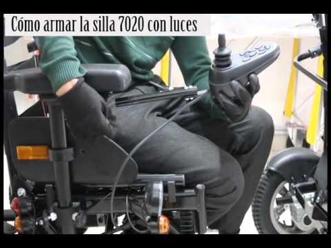 silla de ruedas electrica 7020