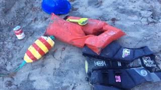 Download Video Fukushima news; Fukushima cleanup worker inspector hardhat washes up on California beach MP3 3GP MP4