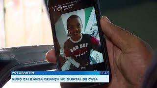 Muro cai e mata menino de dez anos no quintal de casa em Sorocaba