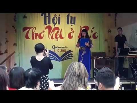 Hội tụ Thơ Việt ở Đức - Phát biểu của Bùi Nguyệt