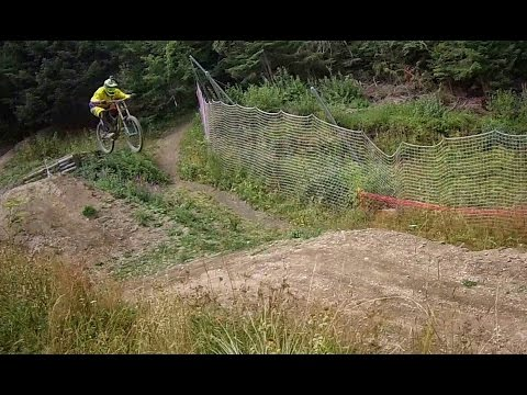 Scary movie Downhill Trail / Borovets / Bulgaria 2016