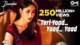 Video Teri Yaad...Yaad...Yaad - Video Song | Bewafaa | Anil Kapoor & Kareena Kapoor MP3, 3GP, MP4, WEBM, AVI, FLV Oktober 2018