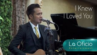 Video Wedding Band - I Knew I Loved You - Savage Garden (Cover) by La Oficio Entertainment, Jakarta MP3, 3GP, MP4, WEBM, AVI, FLV Desember 2018