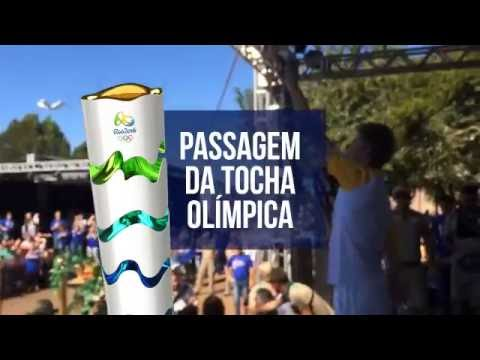 Tocha Olímpica - Realeza