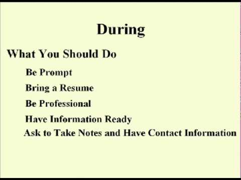 ENG 352 Technical Writing - 33 - Interviews