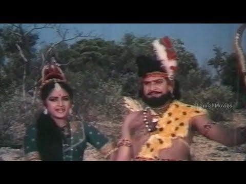 Arjun Vs Ekalaivan - Villalan Ekalaivan Tamil Movie Scenes