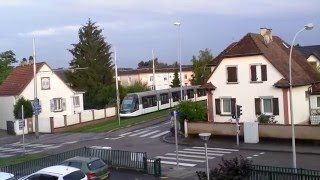 Illkirch-Graffenstaden France  city photos : Tramway Alstom Citadis 403 (Illkirch-Graffenstaden, Alsace, France), 18 juin 2015