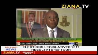 Publication des résultats des élections législatives du 16 juillet 2017 au Congo Brazzaville
