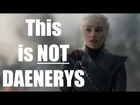 Why Daenerys ISN'T MAD!!
