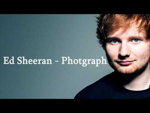 Ed sheeran- photograph (lyrics) (видео)