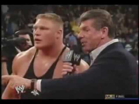 Undertaker & Brock Lesnar 2003 Segment