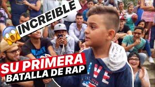INCREIBLE NIÑO DE 11 AÑOS EN SU PRIMERA BATALLA DE RAP || SKILLS MIC™