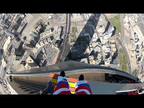 Kuwait's first ever base jump