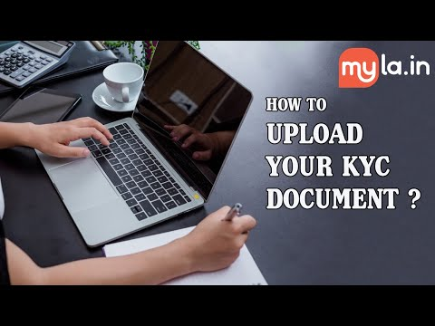 KYC documents upload and profile update