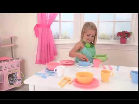 Speelgoedservies (pastel) - Kidkraft - 63027