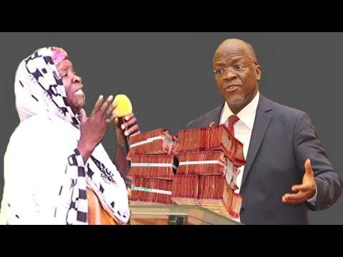 Mama Mjane alivyofurika Pesa Mbele ya Rais Magufuli
