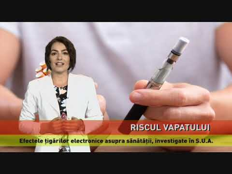 Țigara electronică, posibilă cauză a unor boli pulmonare grave
