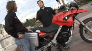 8. 2009 BMW G650GS Motorcycle Review