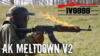 In this video we meltdown a *REAL* AK-47, a Russian VEPR. The results are simply astonishing. Special thanks to Chase at...