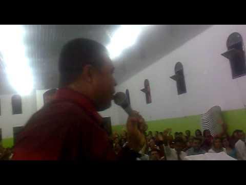 Pr. Genivaldo no congresso de jejum e oracão em Ibicoara-BA