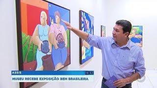 Assis: exposição reúne obras que exaltam a simplicidade e a riqueza da cultura brasileira
