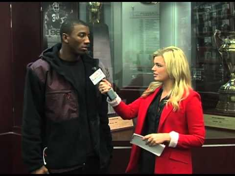 Malcolm Mitchell Interview 10/29/2012 video.