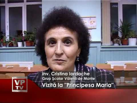 "Vizită la ""Principesa Maria"""