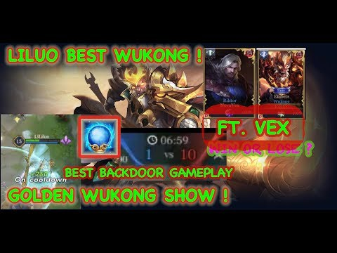 AOV: GOLDEN WUKONG WIN FEED TEAM ! BACKDOOR ! FT .VEX190 펜타스톰 / ROV LIÊN QUÂN傳說對決 悟空