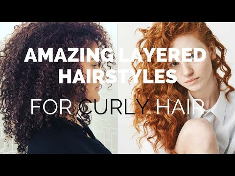 Curly hairstyles - BEAUTIFUL curls in hairstyles