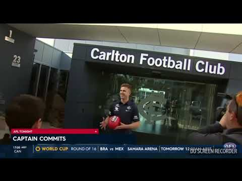 AFL Tonight - Carlton Segment