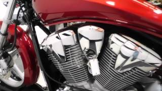 6. 2010 Honda VT1300 Sabre Red - used motorcycle for sale - Eden Prairie, MN