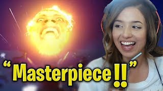 Pokimane Reacts to Our Montage -