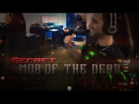 Black Ops 2 | Zombie Mob Of The Dead - Secret