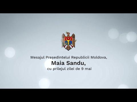 Mesajul Președintelui Republicii Moldova, Maia Sandu, cu prilejul zilei de 9 mai
