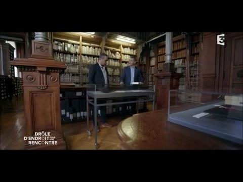 Interview de Kamel Daoud depuis les Archives nationales de France - Drôle d'endroit