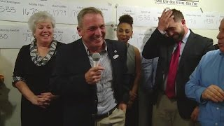 Michael Passero victory speech
