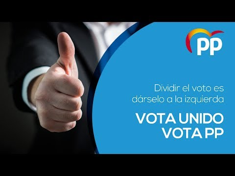 Vota unido. Vota PP.