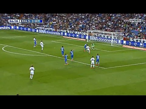 Real Madrid Vs Getafe 7-3 Full Match (23/05/2015) HD 720p English Commentary
