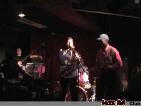 Anna Koroleva & a musician from New Guinea - Jazz Art Club
