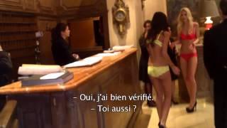Défi Sexy : Des Filles En Lingerie Dans Un Palace !