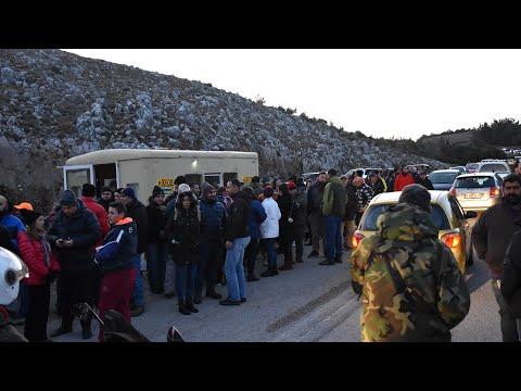 Video - Αναβρασμός για τις κλειστές δομές μεταναστών στο Βόρειο Αιγαίο