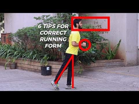 6 Running Tips to correct your Running Posture