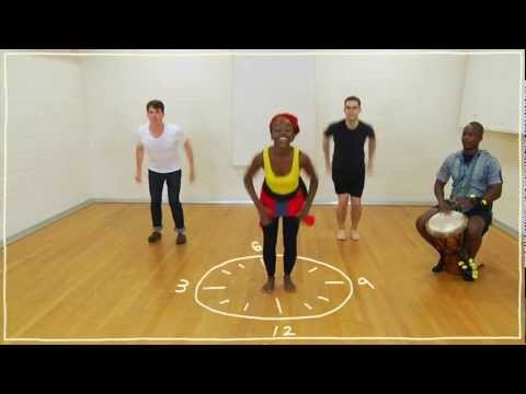 Five(ish) Minute Dance Lesson - African Dance: Lesson 3: Dancing On The Clock