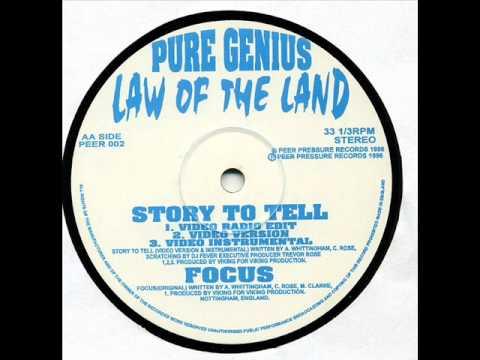 Pure Genius - Focus