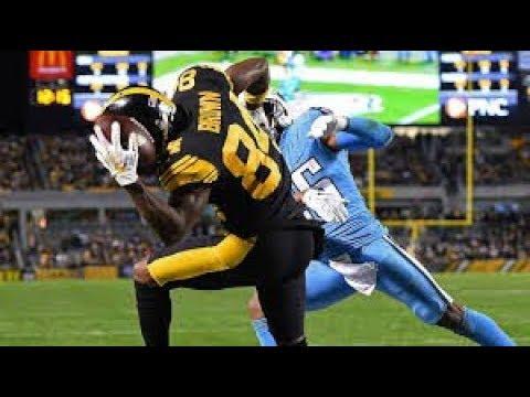 NFL: Best One Handed Catches of 2017-18 Season (видео)